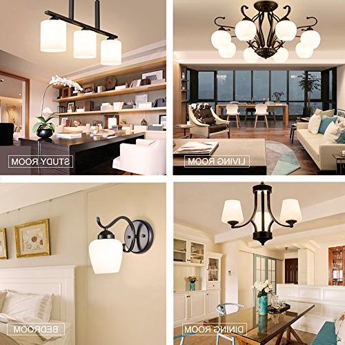 LED Light Bulbs 40 Aooshine Watt LED E26 Screw Base A15/G45 Decorative Home Lighting Non-Dimmable