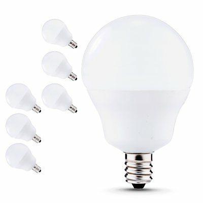 JCase LED Globe Light Bulbs Candelabra Base LED Bulbs for Ce