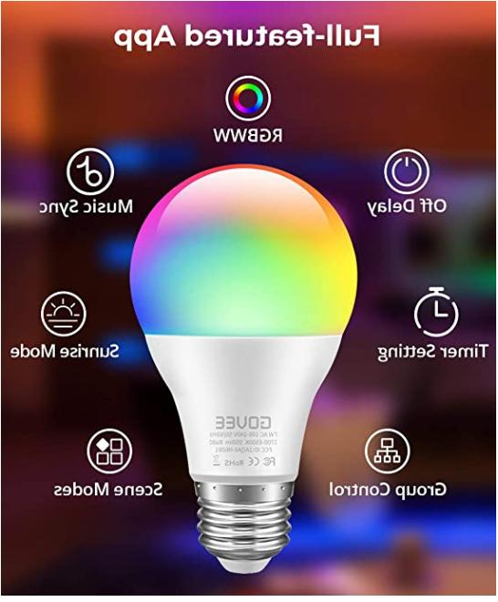 Govee LED Bulbs Dimmable 2Pack Color Changing 2PACK