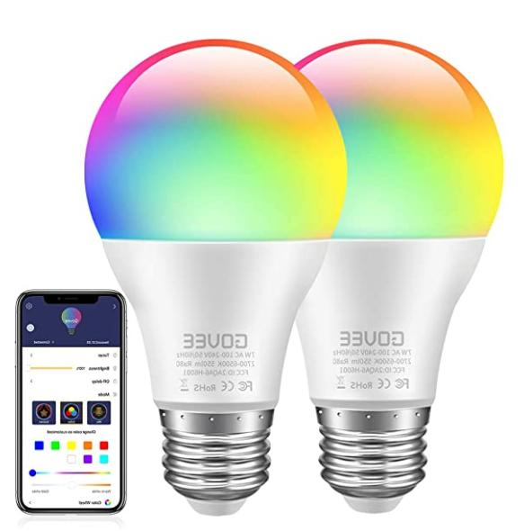 govee led bulbs dimmable 2pack music sync