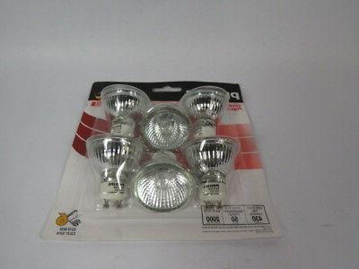 gu10 indoor flood halogen light bulb 50w