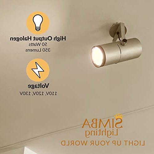 120V MR16 Cover by Dimmable Accent, Recessed, Track Beam Twistline Base, 2700