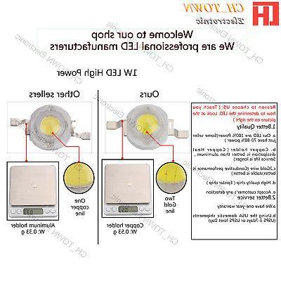 High 1W 3W 50W 100W White LED Beads