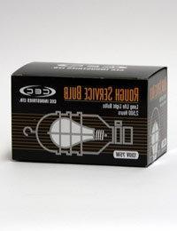 CEC Industries RSB75  Rough Service Bulbs, 130 V, 75 W, E26