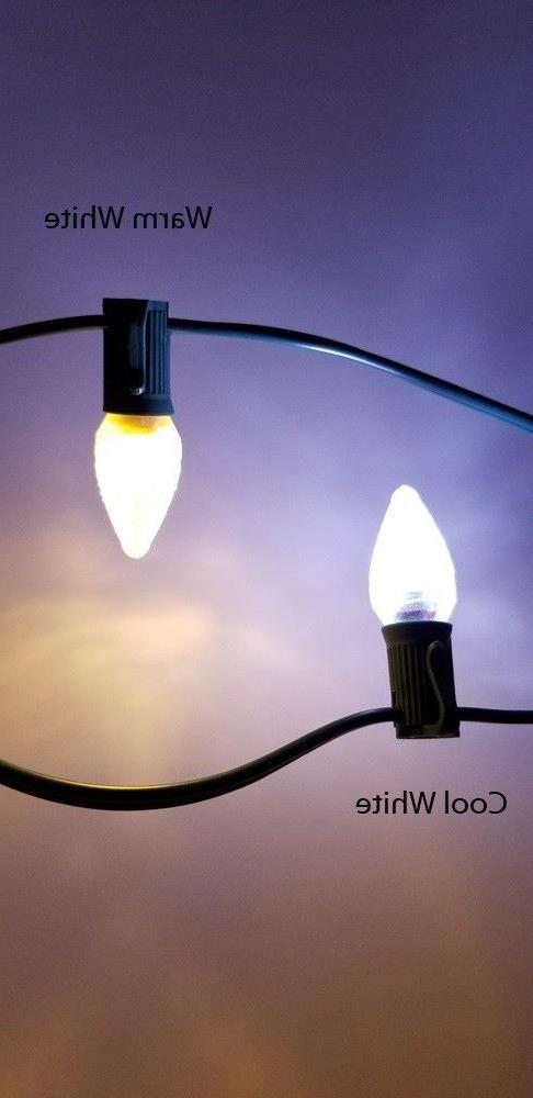 Aurio Christmas Light Bulbs, E12, .35W,