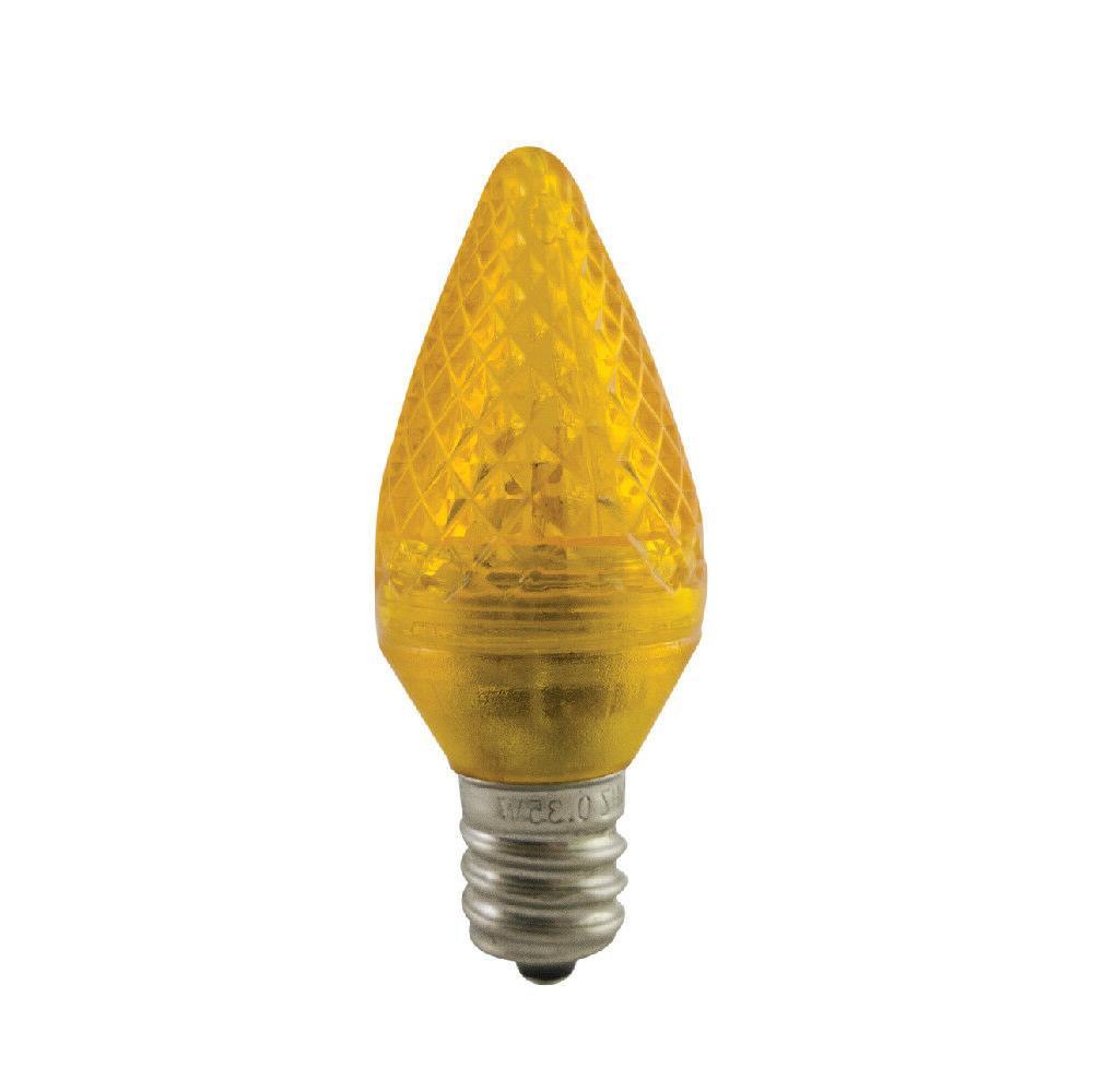 Aurio Christmas Light Bulbs, .35W, Pack
