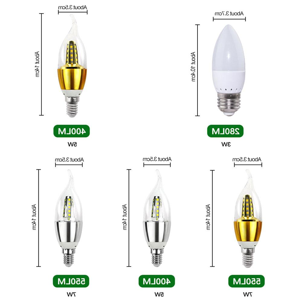 LED <font><b>Bulb</b></font> Lamp E27 110V SMD5730 7W 15W Lampada LED Home