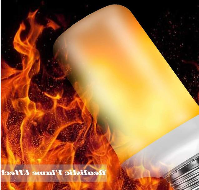 LED Flame Light Bulb Flame Gravity