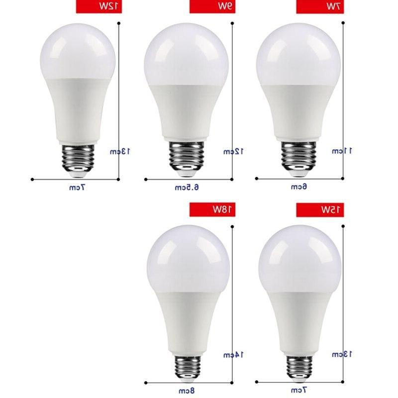 LED 9W <font><b>18W</b></font> <font><b>Light</b></font> High Brightness Lampada Bombilla Spotlight