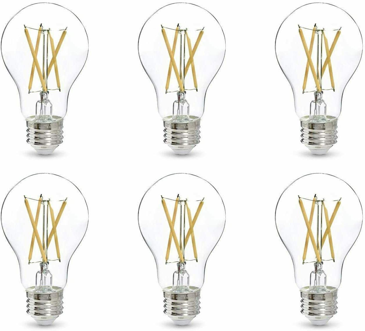 led light bulb a19 60 watt clear