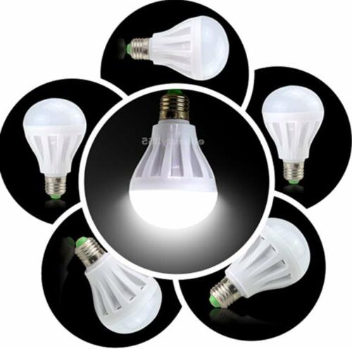 10 PACK = 9W Soft White 60 Watt Equivalent E27 6500K light Daylight