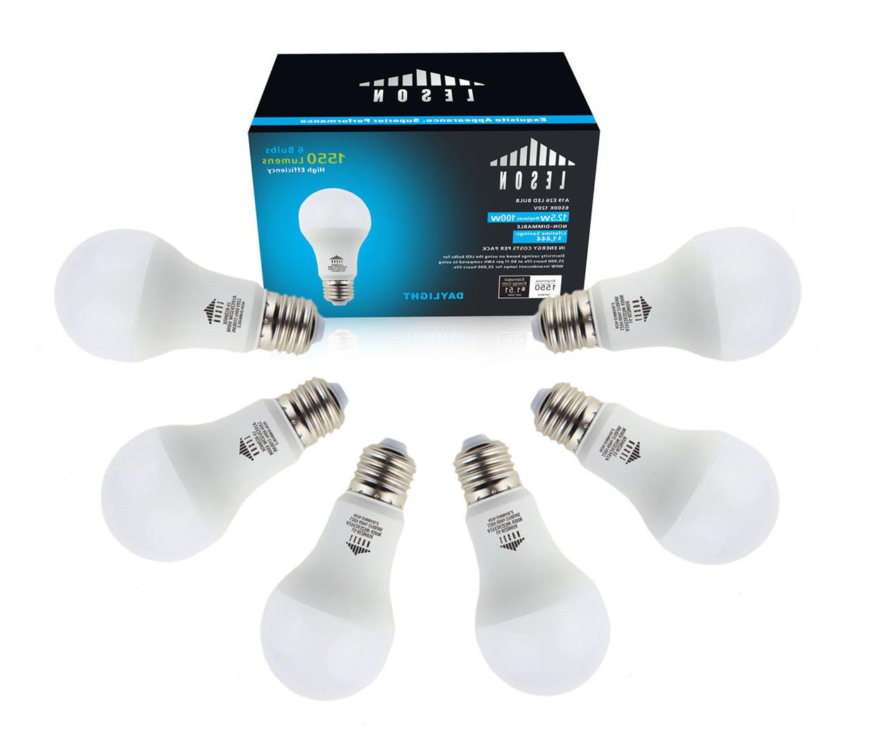 led light bulbs 100 watt equivalent e26
