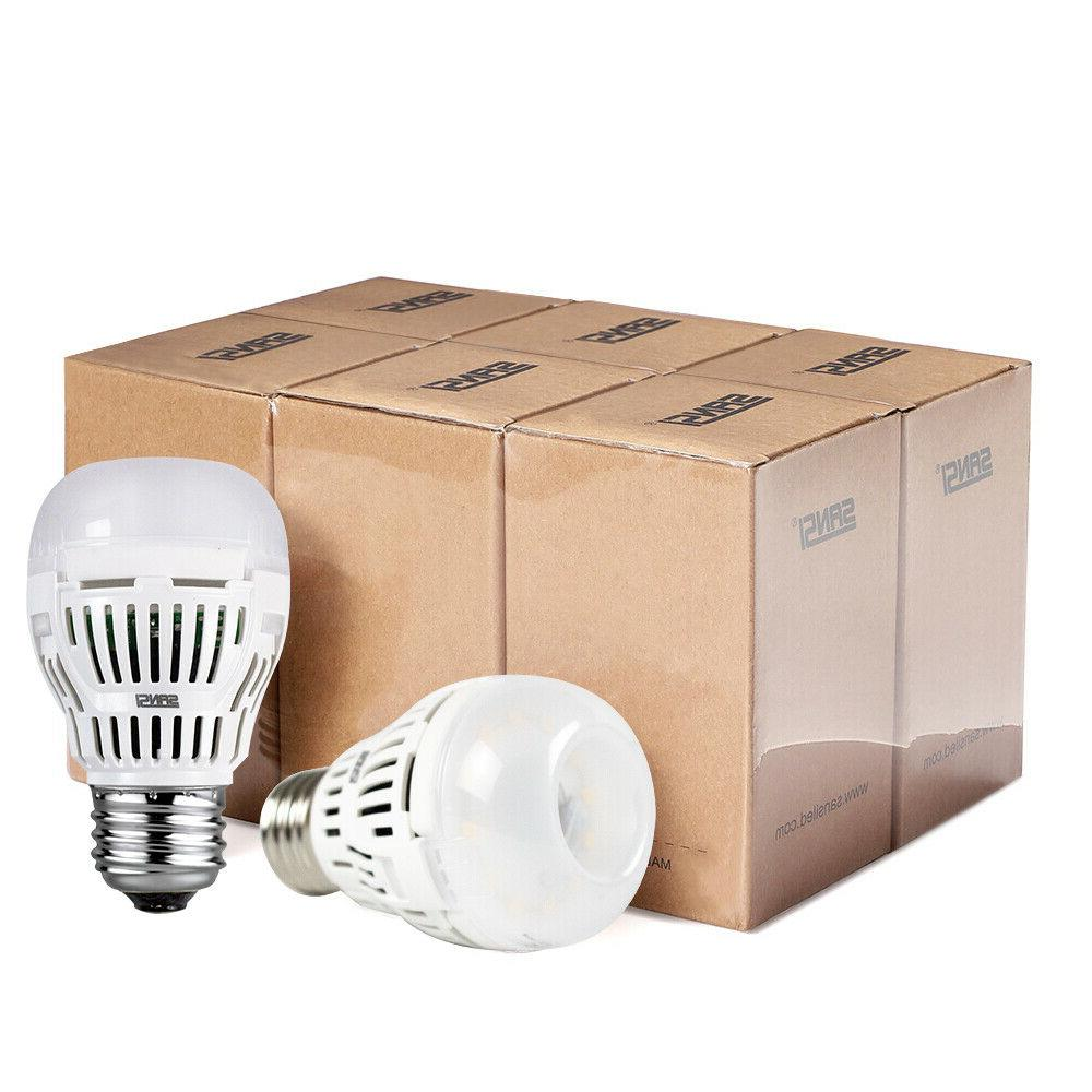 SANSI LED Light Daylight 6-Pack A15 E26 800lm 8W 60-80W Equiv. Bulbs