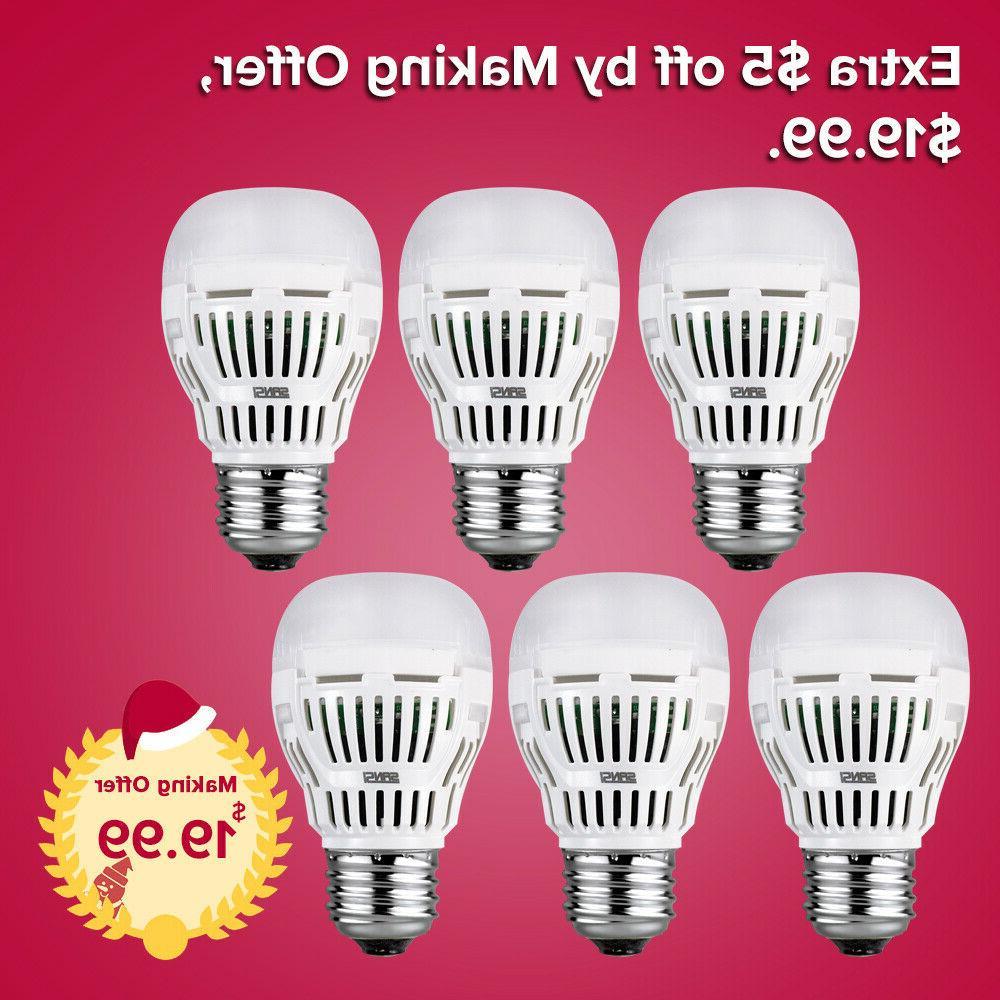 led light bulbs daylight 6 pack a15