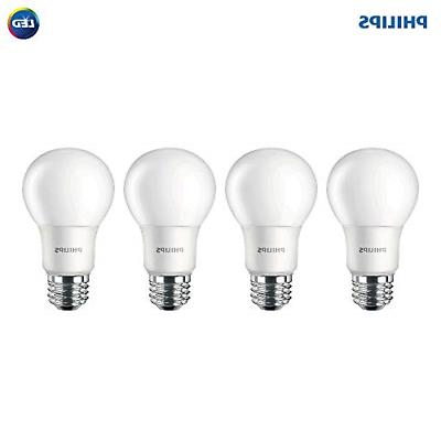 Philips LED Non-Dimmable A19 Frosted Light Bulb: 1500-Lumen,