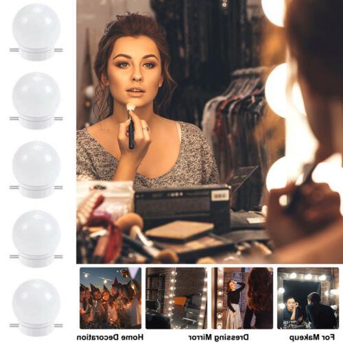 2/6/10/12pack USB Make Up Mirror Lights Led Vanity Dressing