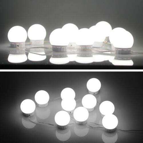 2/6/10/12pack USB Make Mirror Led Vanity Dressing Bulbs