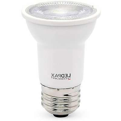 LEDPAX PAR16 Dimmable LED Bulb, 6W , 4000K, White