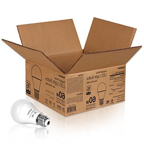 Tenergy Light Bulb, 9 watts 5000K Daylight White Saving for Office/Home