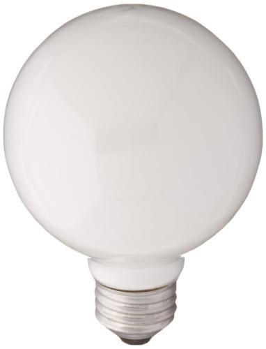 lighting 60w white g25 white globe light