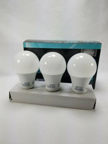 3 Lights Bulbs Living  Solutions 10W LED Natural Daylight Bu