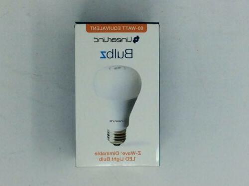 LinearLinc Z-Wave Dimmable LED Light Bulb LB60Z-1 Remote Bul