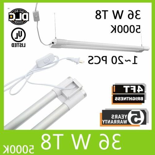 lot 1 20 4ft t8 led tube