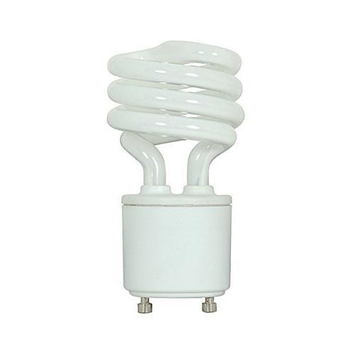 13 Mini Spiral - GU24 - CFL - White
