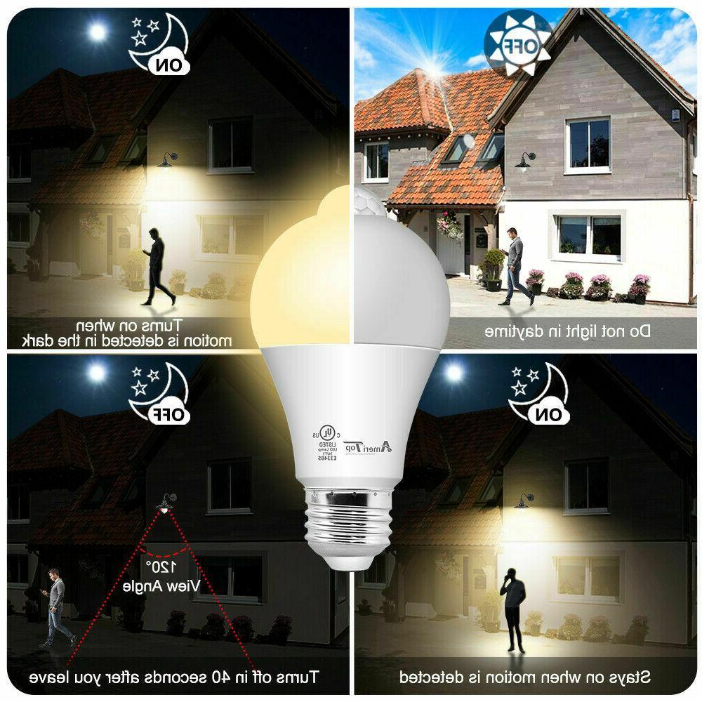 Motion Sensor UL LED Light Bulbs 2