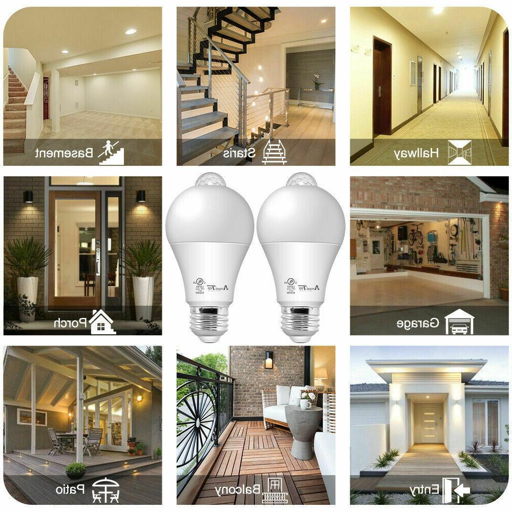 Motion Sensor Light UL Listed 10W Light Bulbs