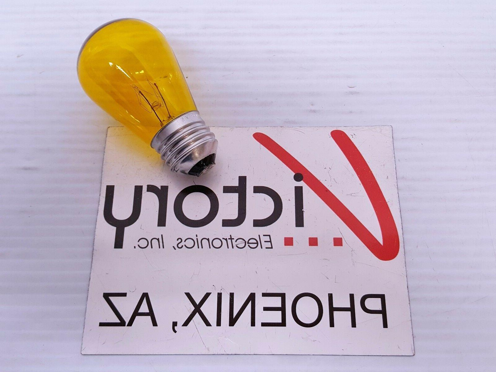 NEW Electric Bulb SIGN Red Orange