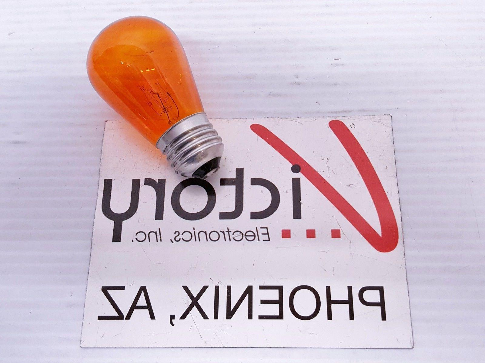 NEW Feit Bulb 11W SIGN Incandescent Red Orange