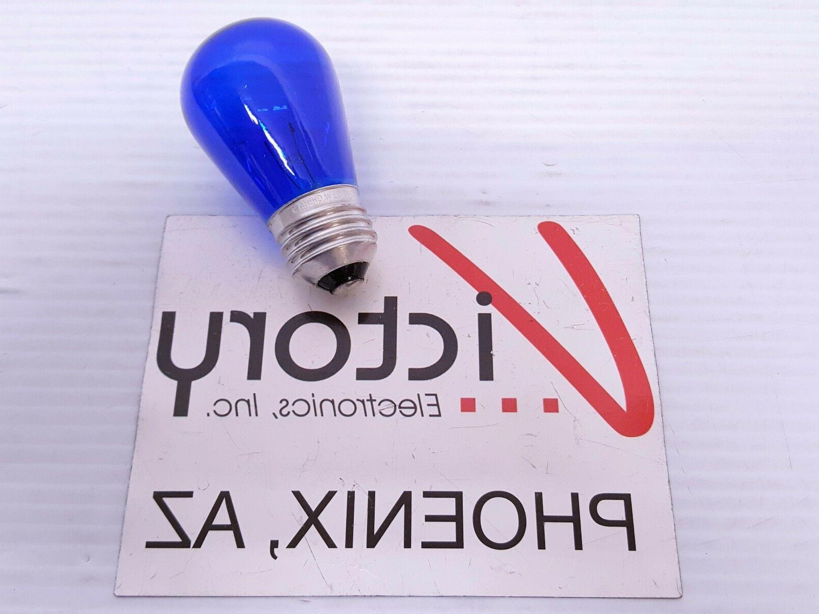 NEW Electric Light Bulb 11W SIGN Red Blue Yellow Green Orange