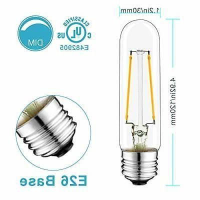 NOVELUX 4.92 Inch Light Bulb, Warm White