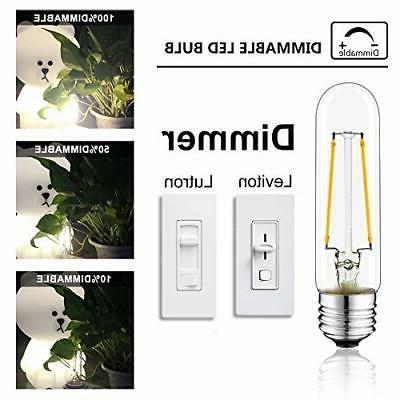 NOVELUX T10 LED 4.92 Tubular Bulb, 4.9 Warm White