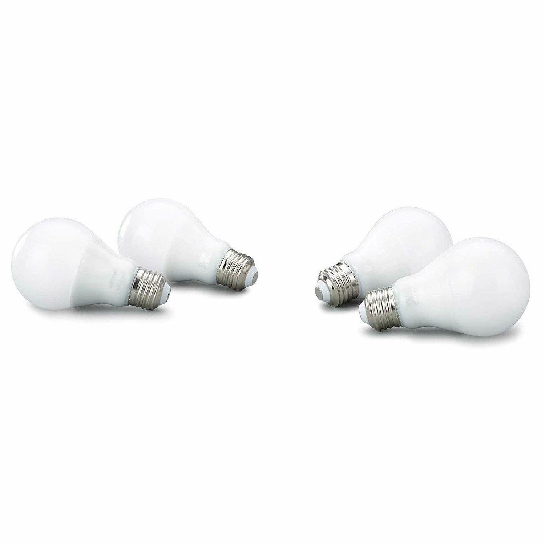 Philips Hue 4-Pack Equivalent LED Smart Bulb