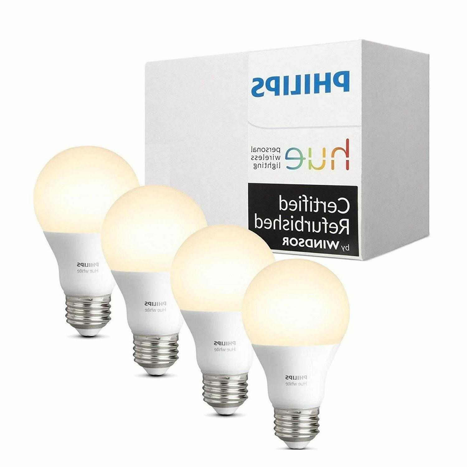 philips hue white a19 4 pack 60w