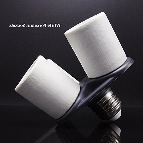 Light Bulb Socket E26/E27 Base 250V 660