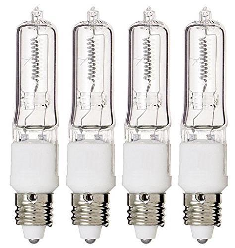 Watt T4 Mini Candelabra Base Clear Light Bulbs