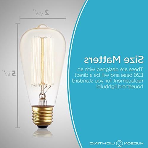 Antique Vintage Bulb 60 watt Bulb - Squirrel Cage 230 - Bulb Base – Edison Light