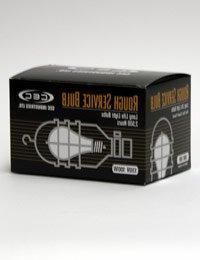 CEC Industries RSB100  Rough Service Bulbs, 130 V, 100 W, E2