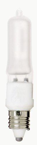 Satco S1914 120V 50-Watt T4 E11 Base Light Bulb, Frosted