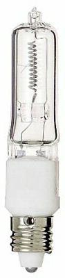 Satco S3107 120V 100-Watt T4 E11 Base Light Bulb, Clear