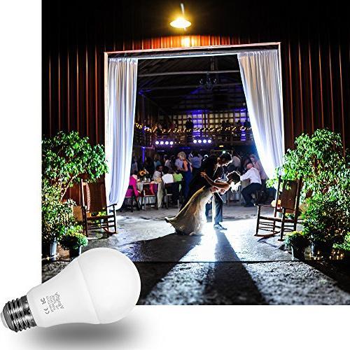 Sensor Bulb Dusk to Bulbs Lighting 7W Indoor/Outdoor Garage Garden
