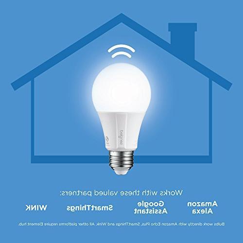 Sengled Smart Soft White A19 2700K Light Bulbs & Works & Google Assistant