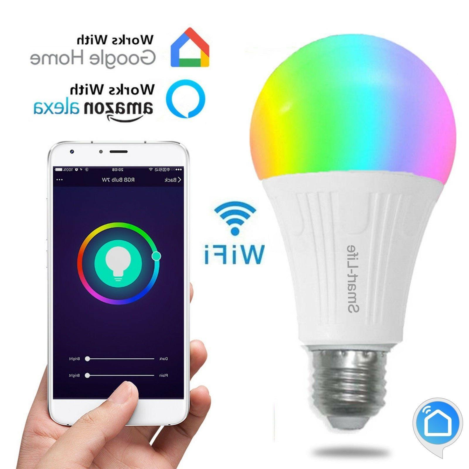 smart led bulb work with amazon alexa