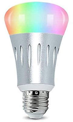 Smart LED Light Bulb Compatible with Alexa and Google Home,N