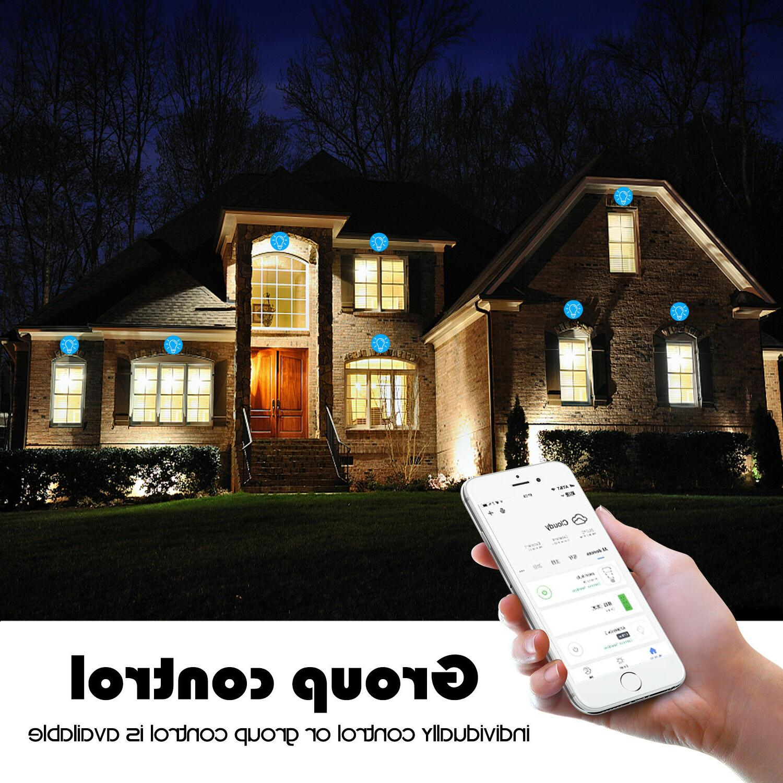 WiFi Smart Light Socket Adapter Works With Home /Alexa/IFTTT