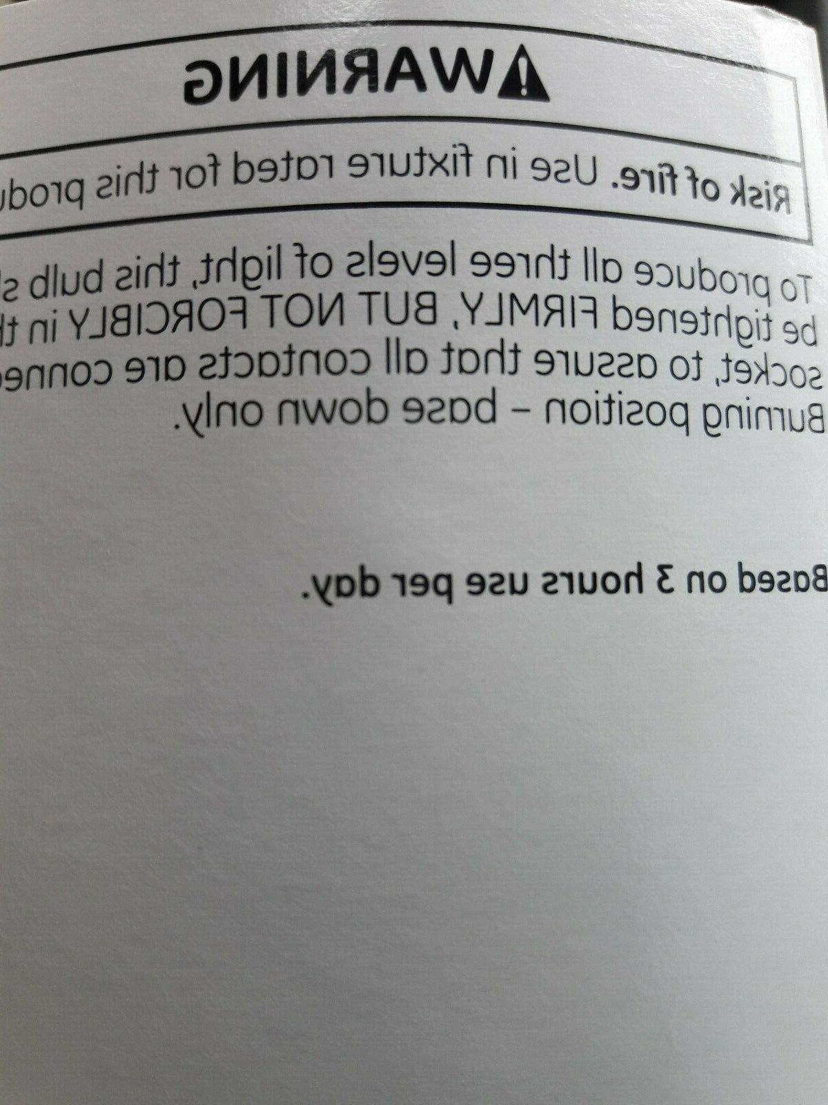 'GE' Soft Bulbs // 50/100/150w // //