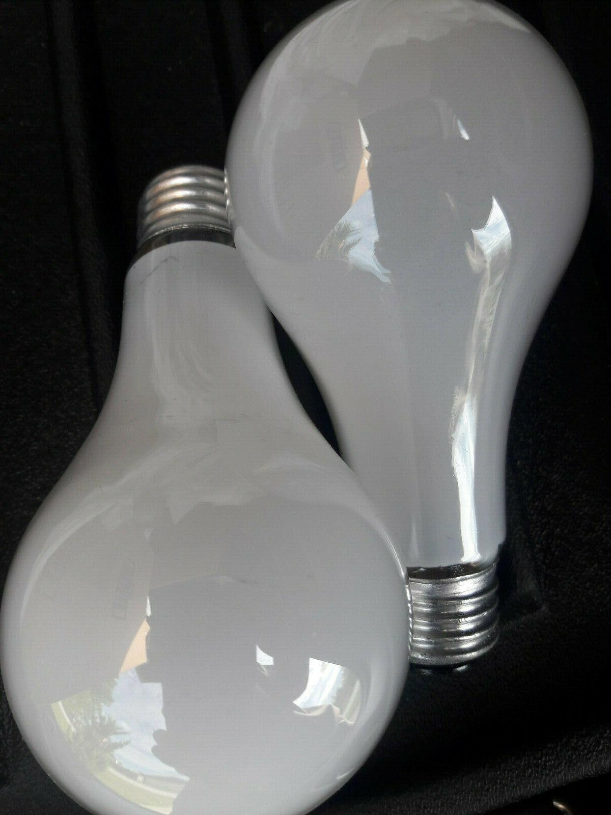 'GE' White Bulbs // 50/100/150w // //